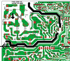 str f6654 based smps power supply schematic diagram daewoo dsc