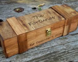 wine box wedding ceremony wine box ceremony etsy