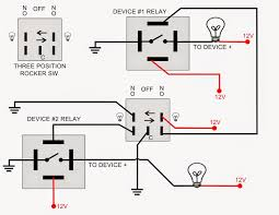 spst relay diagram wiring diagram simonand