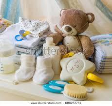 baby necessities baby necessities stock images royalty free images vectors