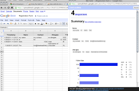 Form To Google Spreadsheet Making Registration Questionnaire Forms In Google Docs U2013 The Wheat