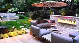 backyard how to design a backyard garden the soil controlling in