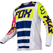 baby motocross gear amazon com 2017 fox racing youth 180 falcon jersey navy white yl