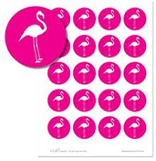 flamingo mask templates including a coloring page version of the