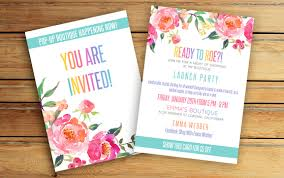 boutique inauguration invitation pop up boutique invitation party invite fashion consultant
