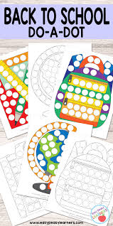 free back to do a dot printables easy peasy learners
