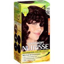 black hair to raspberry hair garnier nutrisse nourishing color creme in 415 raspberry truffle
