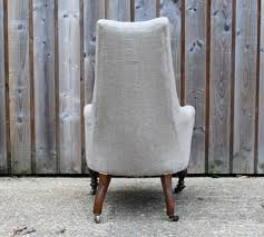 Upholstered Armchair by Antique French Upholstered Armchair Francesca Blackaby