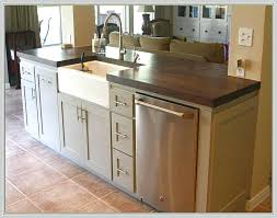 kitchen islands in small kitchens small dishwashers for small kitchens and kitchen island with sink