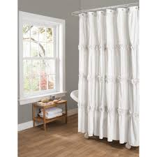 decorating white monogrammed shower curtain fabric ballard