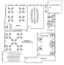 Floor Plan View Help Fund Community Centers In Shahabad Markanda India Floor