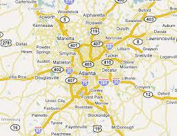 map of atlanta metro area atlanta metro area web design development firms on the firm list usa
