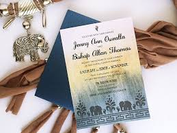 contemporary indian wedding invitations free diy modern indian wedding invitation with elephants