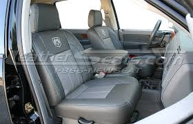 dodge seat covers for trucks dodge ram leather interiors