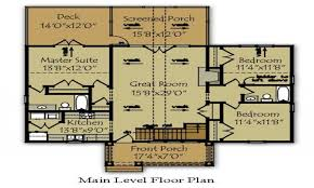 Lakefront Home Floor Plans 54 Lake Home Plans Lake House Plans Home Designs The House