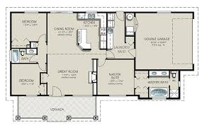 4 bedroom house blueprints collections of house plans 4 bedrooms one floor free home