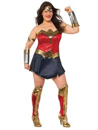 deluxe halloween costumes for women batman v superman deluxe wonder woman curvy costume women u0027s tv