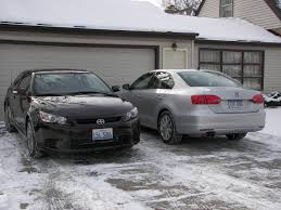 silver volkswagen jetta goodbye hello u2013 from 2011 volkswagen jetta to the 2011 scion tc