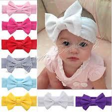 kids hair accessories baby headband cotton bow elastic knot band hairband kids