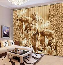 Livingroom Curtains Online Get Cheap Leaf Curtains Aliexpress Com Alibaba Group