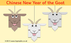 chinese new year make a goat mobile this is cute www