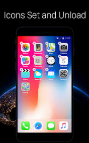 apk ios launcher for ios new iphone x ios 11 style theme mod apk