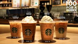 espresso macchiato double limited time offer u20b1100 iced espresso at starbucks every