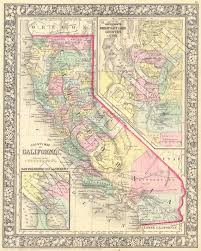 california map framed i want this framed and on my wall vintage map california