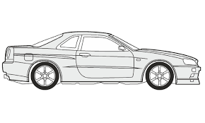 toyota supra drawing how to draw a nissan skyline gt r как нарисовать nissan skyline