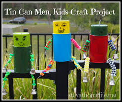 tin can garden men holiday project stay at home life
