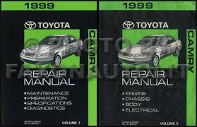 1993 toyota camry repair manual 1997 2001 toyota camry collision repair shop manual original