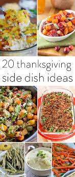 20 thanksgiving side dishes the creative