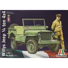 jeep model kit amazon com model kit willys jeep 1 4 ton 4x4 1 24 scale toys
