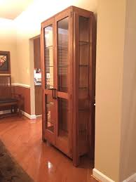china cabinet used oak china cabinets foreoak with glass doors