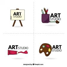 free vector art images graphics for free download art studio logo vector free download