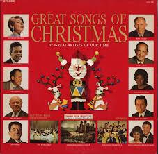 christmas cd goodyear great songs of christmas cd album record