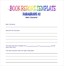 story report template 9 free book report templates excel pdf formats