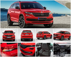 skoda kodiaq interior skoda kodiaq sportline 2018 review interior exterior features