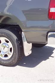 Ford F150 Truck Mud Guards - putco stainless steel form fitted mud flaps in stock