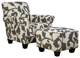 specialty accent chair with contemporary vintage look by