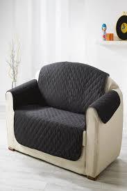 tati canap protege canapé matellassé noir 279 x 179 cm