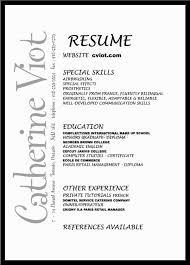 Special Skills In Resume Examples by Artsy Resume Templates