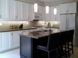 White Kitchen Cabinets With Black Granite Kitchen Countertops Em Backsplash Em U Ideas U For Black