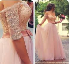 lace prom dresses princess prom dress ball gown prom gown pink