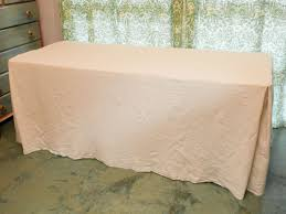 can you put a rectangle tablecloth on a round table how to sew an easy fitted tablecloth for a folding table diy