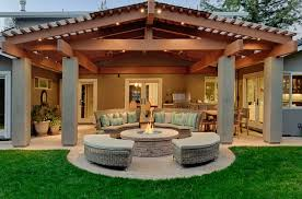 the advantage of choosing gable roof patio cover home design
