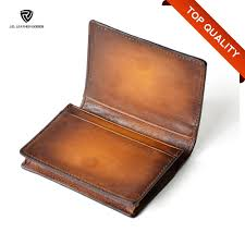 Engraved Leather Business Card Holder Handmade Engraved Leather Business Card Holder Men Business Card