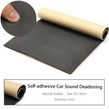 30 x 50cm car auto 5mm van sound proofing deadening insulation