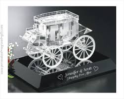 wedding gift engraving ideas carriage stage coach for storybook wedding