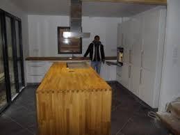 kvik cuisine montage et pose d une cuisine kvik avec îlot central à soissy sur